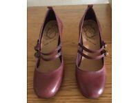 River Island High Heeled Purple Shoes Size 5 -