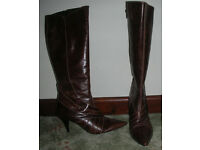 Ladies Brown Boots by Next, size 5, like new
