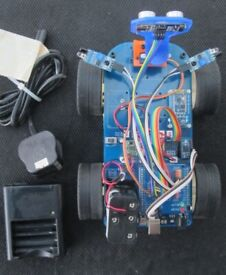 Programmable Educational Arduino or PI Based 4wd Smart Car