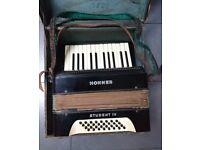 Vintage Hohner Student lV accordian
