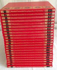 Encyclopedia of Gardening - 22 Volumes from Marshall Cavendish