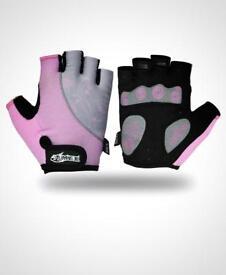Women's gym gel half gloves