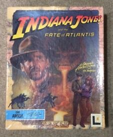 Indiana Jones And The Fate of Atlantis. (Amiga 1992) (Tested & Complete)