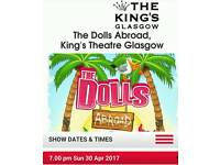The dolls abroad show