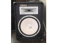 YAMAHA KS100 15 INCH POWERED SPEAKER CAB PLUS 1 X 15 INCH SPEAKER CAB WITH TWEETERS