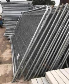 🔩 TEMPORARY HERAS FENCE PANELS - SITE SECURITY FENCING