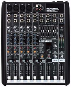 Mackie ProFX8 | 8 Channel Professional Effects Mixer with USB (ProFX8)