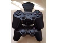 2x Sony dualshock 3 controllers + dual charge stand