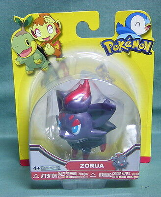 Pokemon Figure By Jakks Pacific- Zorua--