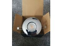 Chrome IP65 Fire rated LED downlights NEW Bathrooms Soffits Kitchens light gu10
