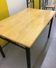Dining room table and 4 matching chairs for sale