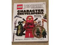 Lego Ninjago Book Excellent Condition with Minifigure