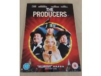 The Producers (2005) and The Full Monty (1997) DVDs