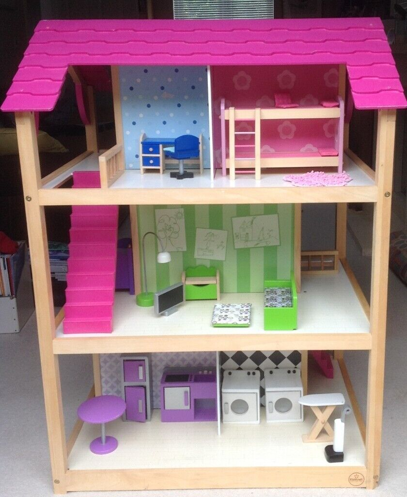 Kidcraft So Chic Dollhouse Large Wooden Dolls House In Witney Oxfordshire Gumtree