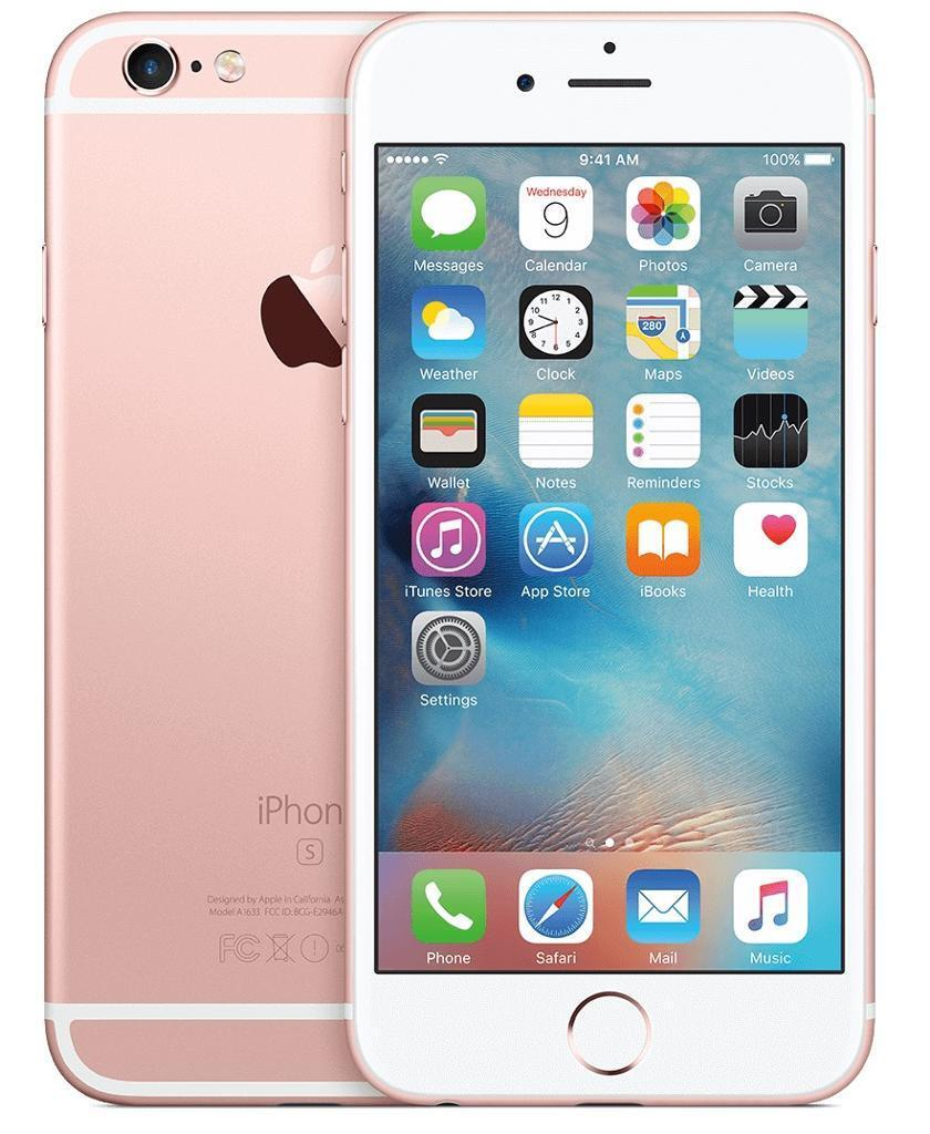 IPhone 6s 64gb UNLOCKED rose gold