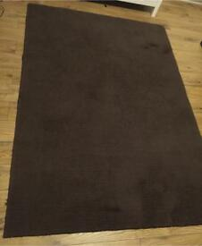 Brown rug from b&q was originally £88 79 x 55.5 inches