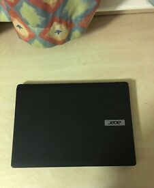 Used Acer Laptop. Great condition, good for students. Few signs of usage. £120 ono