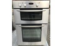 Indesit integrated double oven free delivery