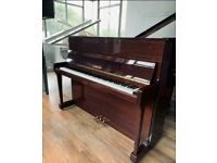 Yamaha P116 Upright Piano Walnut case || Belfast Pianos| Free delivery||