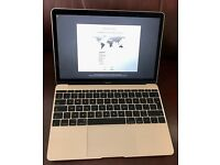Apple Macbook 12 inch (2015), Excellent Condition, Gold, Retina display, with box and charger