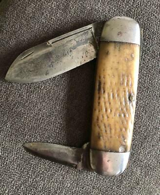 OLD VINTAGE ANTIQUE WILBERT SUNFISH TOENAIL KNIFE
