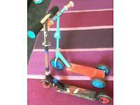two kids scooters both £5