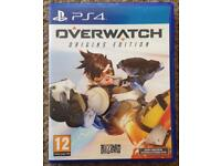 Overwatch PS4 mint condition