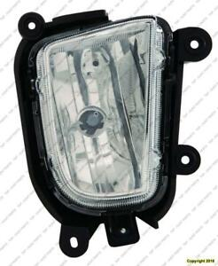 Fog Lamp Passenger Side Koup (Coupe) High Quality Kia Forte  2010-2013