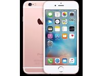 IPHONE 6S ROSE GOLD/ UNLOCKED / 16 GB/ VISIT MY SHOP. / GRADE A / 1 YEAR WARRANTY + RECEIPT