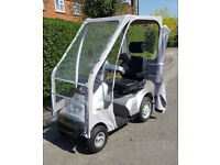TGA Breeze S4 Mobility Scooter + Canopy Only Done 1.3 Miles! NEW CONDITION