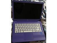 """HP Stream 14"""" Laptop Purple"""