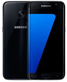Unlocked Samsung Galaxy S7 Edge Mobile Phone - Black