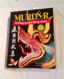 Murder In The Orient Mystery Dinner Party Game With Cassette. Contents Unused