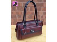 RADLEY 'Hendon' Large Burgundy Leather Tote Bag *Excellent Condition*