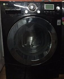 LG F1479FDS6 9kg 1400 Spin Black LCD Super Silent Washing Machine 1 YEAR GUARANTEE FREE FITTING