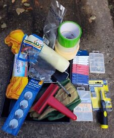 Huge Joblot DIY / Decorating Bundle New & Used Items - Collection Only Stockport