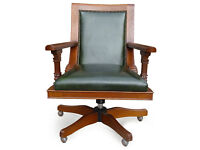 Top Quality Leather Office Desk swivel Captain's Chair