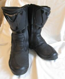 Spada Black Motorcycle Boots