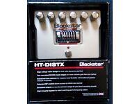 BLACKSTAR HT-DISTX..Valve Ultra High Gain Distortion Pedal