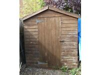 Used garden shed 8 ft x 6 ft