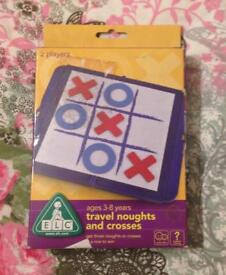 Noughts And Crosses Travel Game From ELC. Complete And Good Condition.