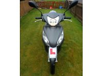 Honda Vision 50cc scooter. Still under warranty. Only done 150 miles since new. Runs on unleaded