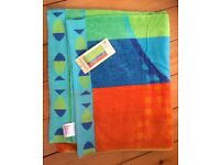 BHS beach towel - brand new still with label