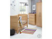 Mamas & Papas 3 piece nursery furniture