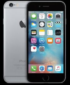 IPhone 6 64gb unlocked grey condition comes with box charger and protective case screen protected.