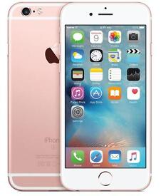 iPhone 6s Rose Gold 16gb on EE
