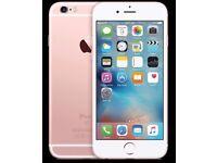 IPHONE 6S ROSE GOLD/ VISIT MY SHOP/ GIFT / UNLOCKED / 64 GB/ GRADE B / WARRANTTY