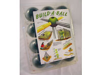 Build-a-Ball Fruit Cage Construction New Sealed Pack of 12 Balls (WH_2181)
