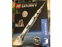 LEGO SATURN V 21309 , LEGO Ideas, Brand New sealed box collection only