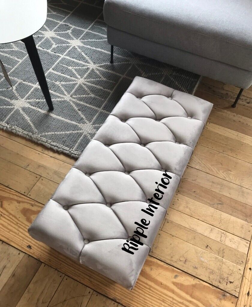 Super Beautiful Ottoman Bench Seat Footstool For Sale With Legs Can Deliver For 5 In Derby Derbyshire Gumtree Theyellowbook Wood Chair Design Ideas Theyellowbookinfo